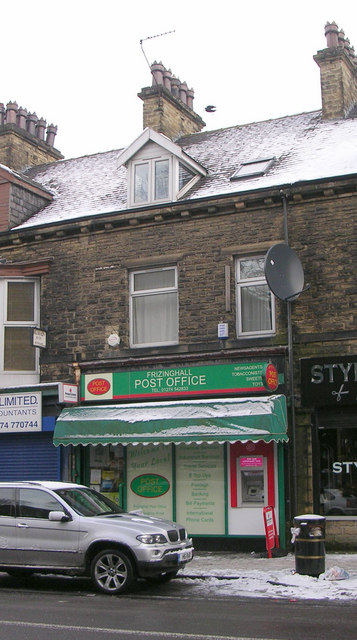 Frizinghall Post Office - Keighley Road