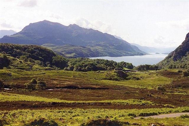 Tollie Farm, Tollie Bay and Loch Maree