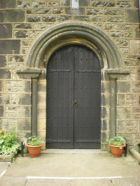 St Mary the Virgin, Oxenhope, Doorway