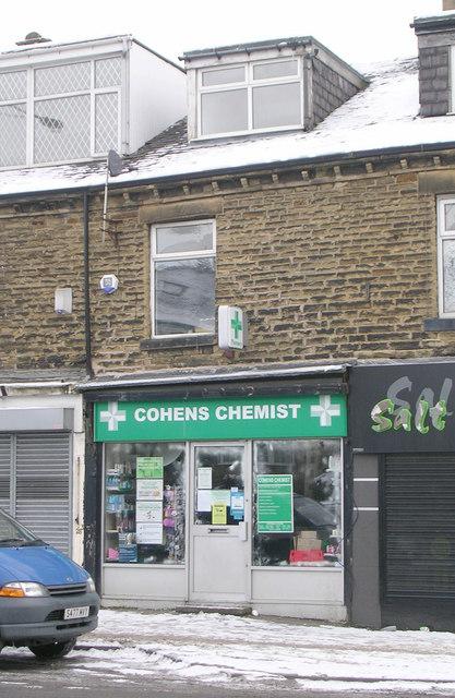 Cohens Chemist - Bradford Road