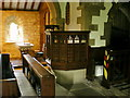 SE0334 : St Mary the Virgin, Oxenhope, Pulpit by Alexander P Kapp