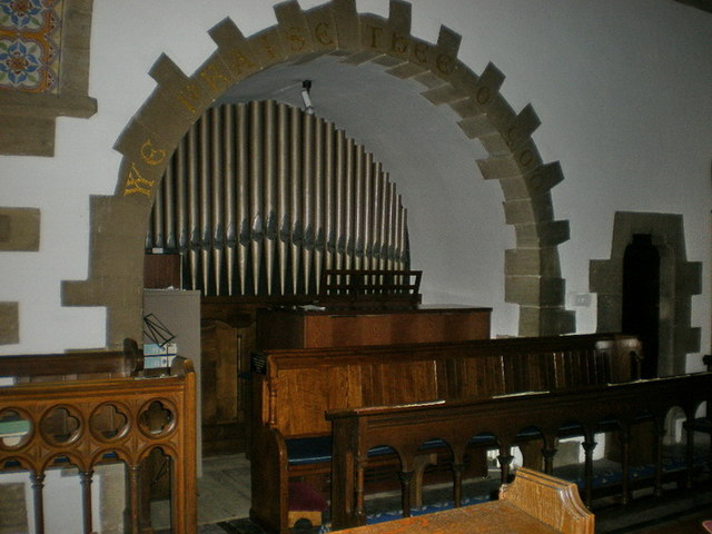 St Mary the Virgin, Oxenhope, Organ