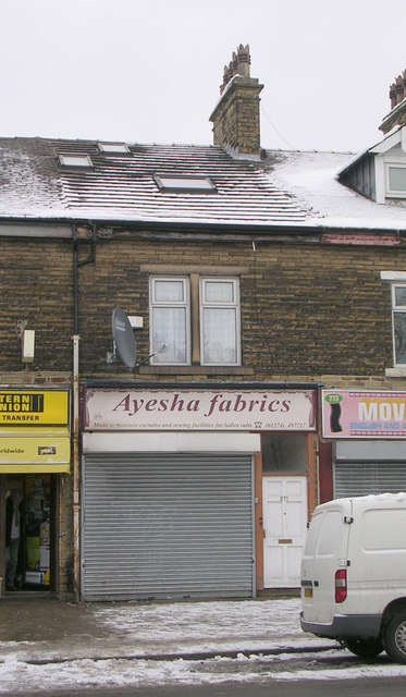 Ayesha fabrics - Bradford Road
