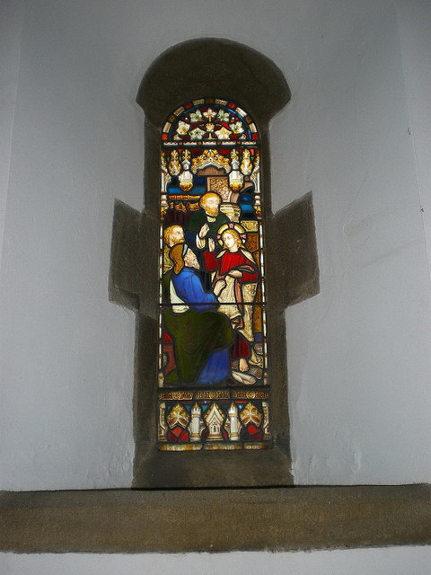 St Mary the Virgin, Oxenhope, Stained glass window