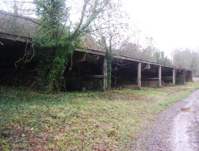 Storage shed, Aller Farm