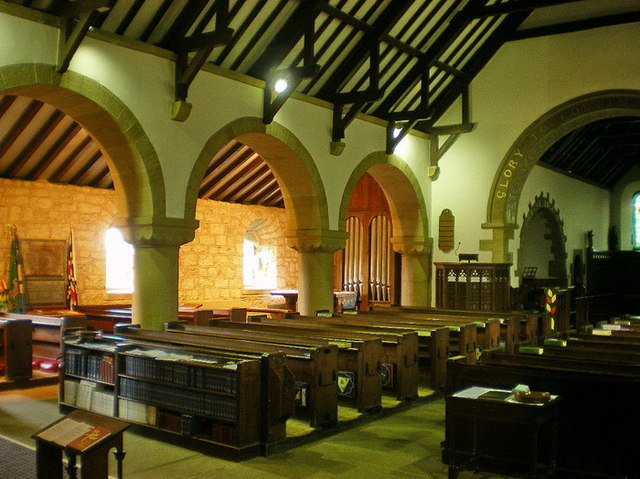 St Mary the Virgin, Oxenhope, Interior