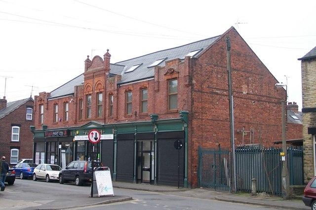 Brightside & Carbrook Co-op Branch 15 (Former), Taplin Road, Hillsborough Sheffield - 2