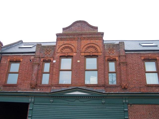 Co-op Shop Detail, Hillsborough Place, Hillsborough
