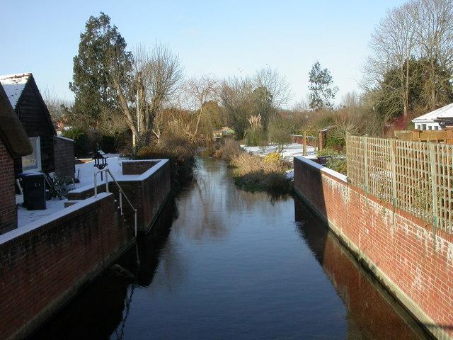 Downton, river branch