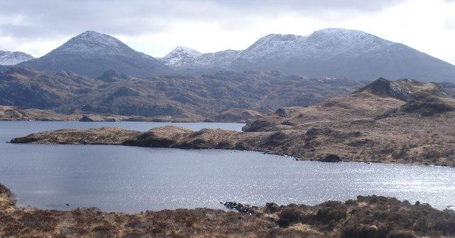 Loch Doir a' Ghearrain with An Stac beyond