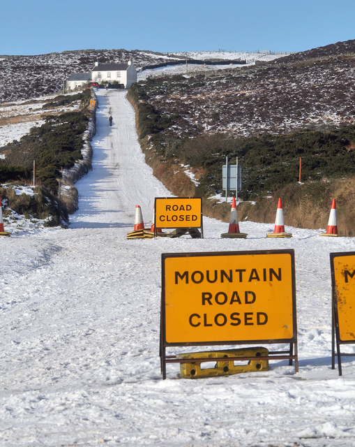 The Mountain Road is Closed