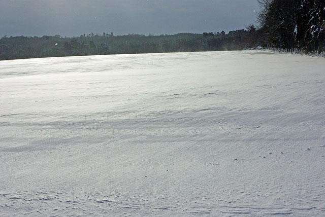 Snowfield, Benson's Hill