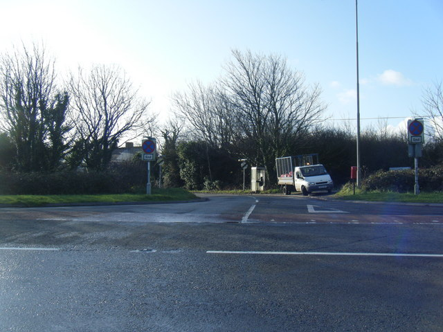 Tythegston road junction at A48.