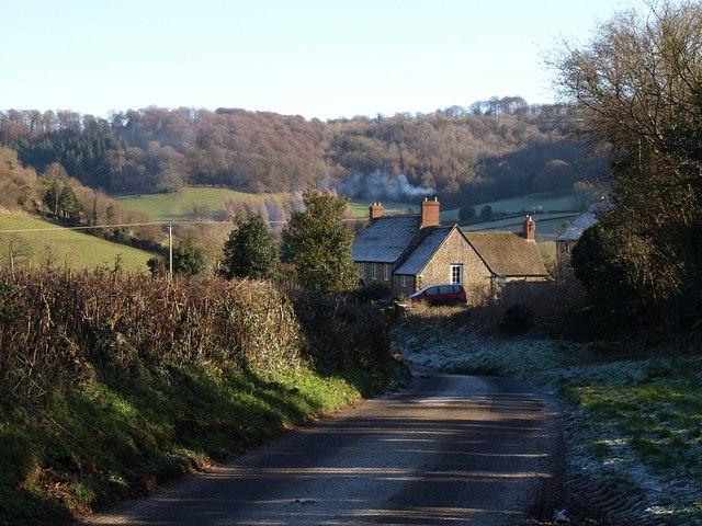 Approaching Waterley Farm