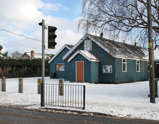 The village hall in Poringland