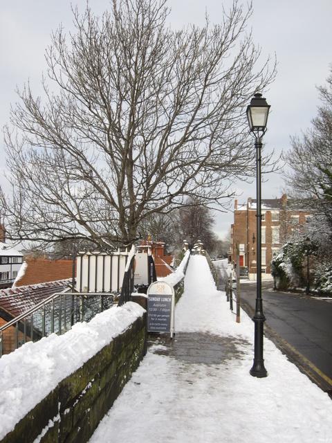 City walls in Nuns Road