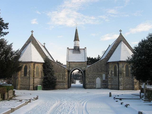 Chapel, Hove Cemetery