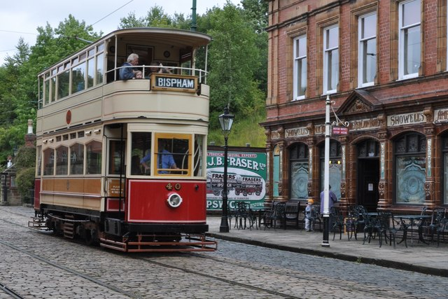 The Bispham Tram at the 'Red Lion' Hotel