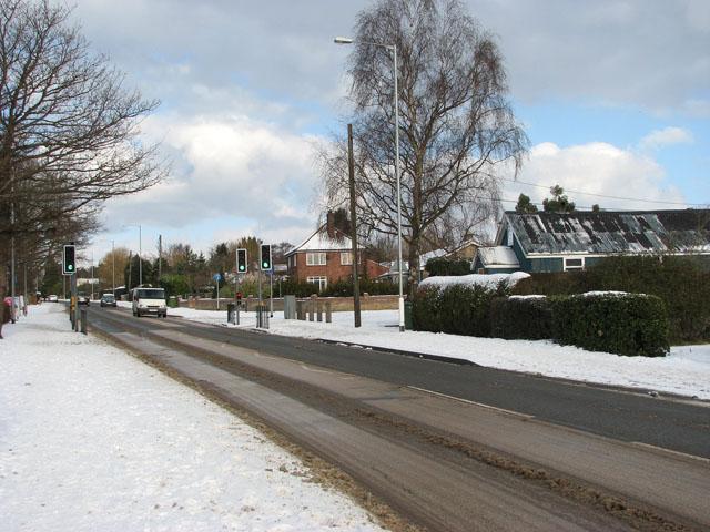 The Street through Poringland