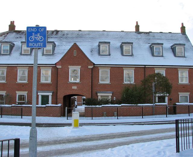 New housing in Devlin Drive