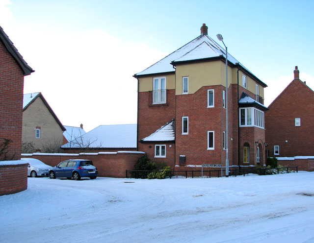 New house by the junction of Devlin Drive and Hornbeam Drive