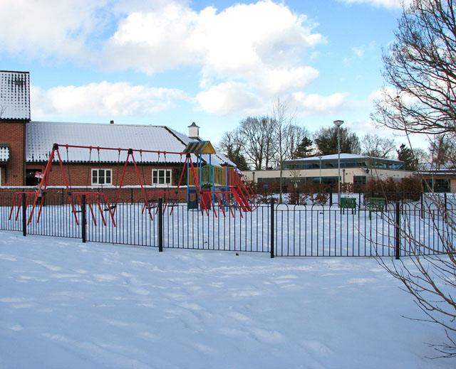 Children's playground north of Devlin Drive