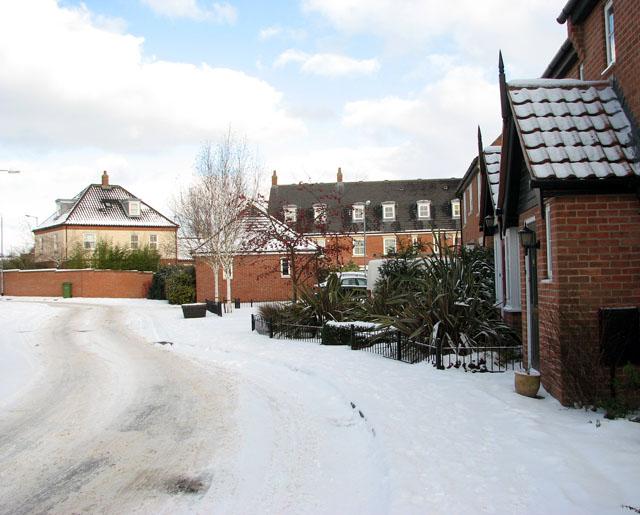 Houses in Blackthorn Way