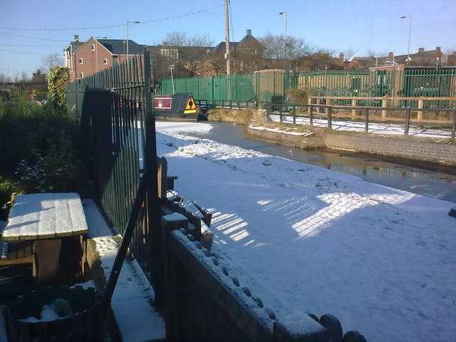 Snow scene at Star lock
