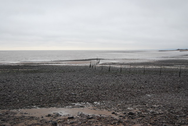 Low tide, Minehead Beach