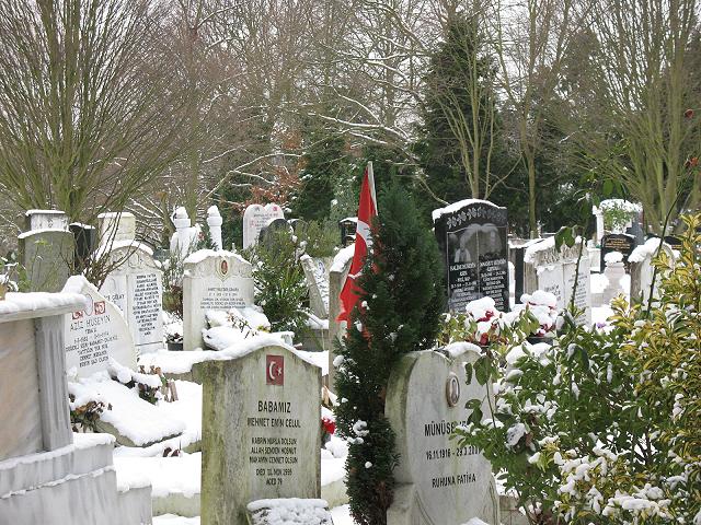 Grove park Cemetery: Islamic burials
