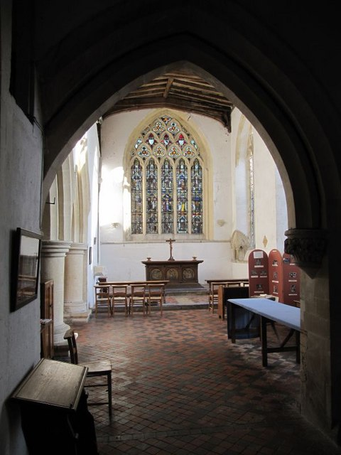 Looking in the chapel