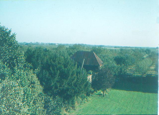 Garden & Outlook from Bredgar House: 1972