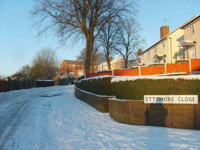 Snowy Ettymore Close