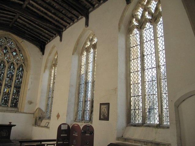 Windows in the chapel