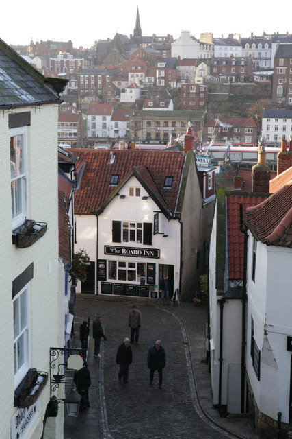 Board Inn, from the 199 steps