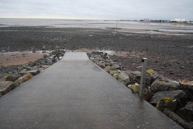 Slipway, Minehead beach