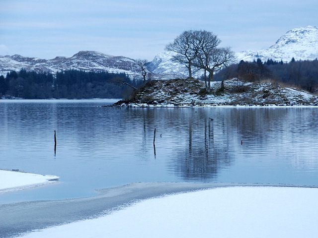 Promontory on Loch Awe
