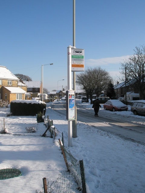Quarely Road bus stop
