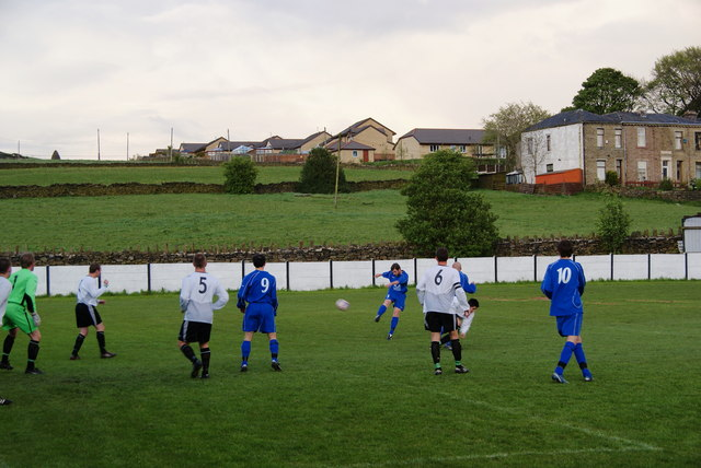 Matchday at Bacup Borough