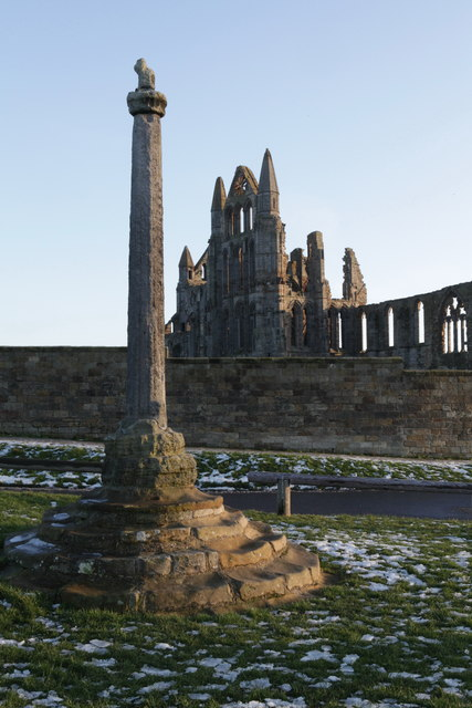 Whitby Abbey Cross