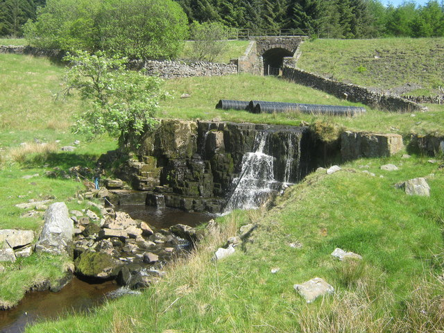 Waterfall near Stone Houses, Cumbria