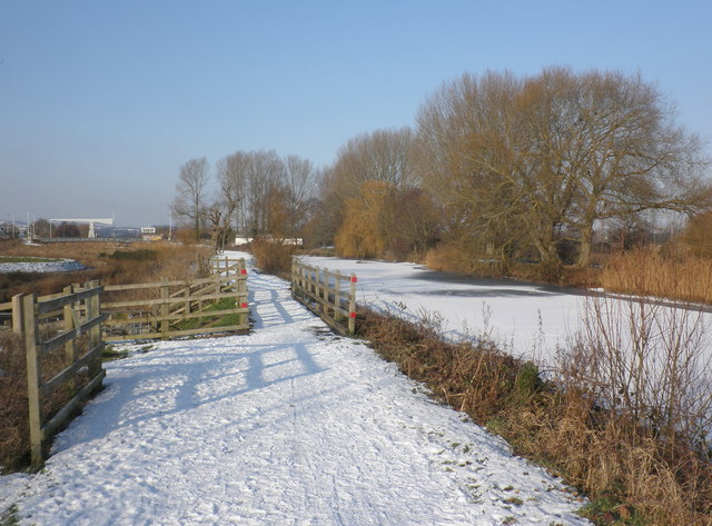 Exeter Canal, frozen