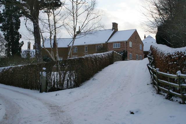 Public bridleway at Eaton Grange
