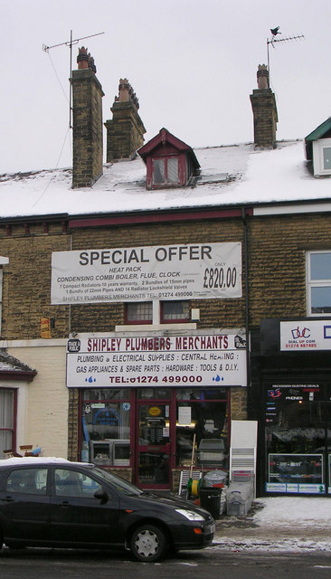 Shipley Plumbers Merchants - Bradford Road
