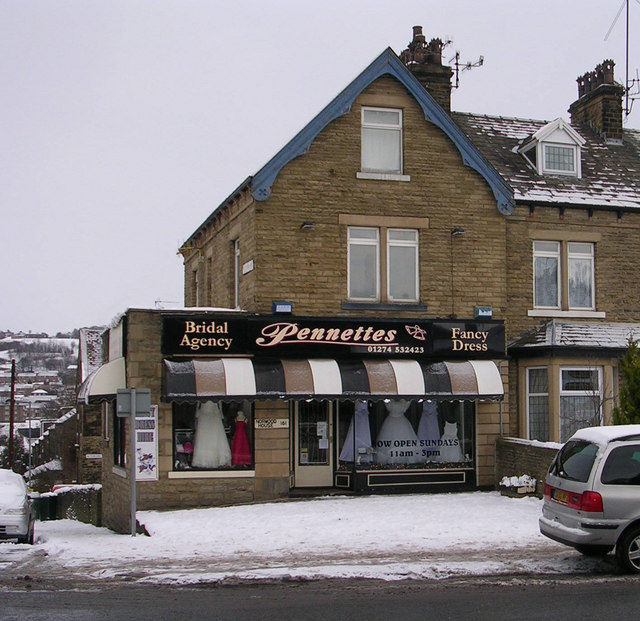 Pennettes Bridal Agency - Bradford Road