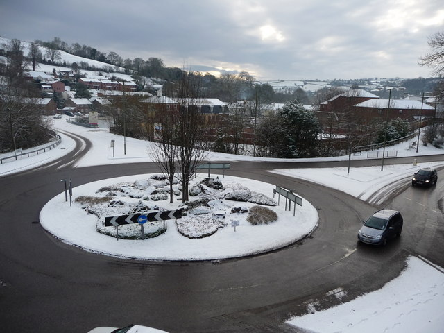 Tiverton : The Great Western Way Roundabout
