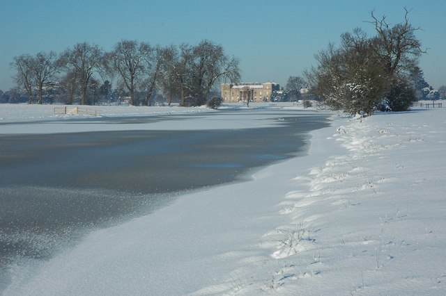 Frozen Croome River