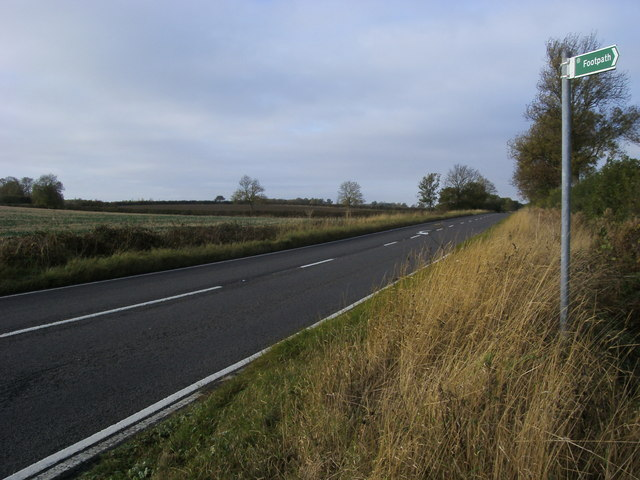 B645 to Chelveston