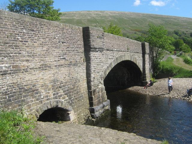 Church Bridge and the River Dee, Dent, Dentdale, Cumbria