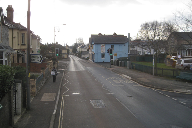 Bus stop, Gestridge Road, Kingsteignton